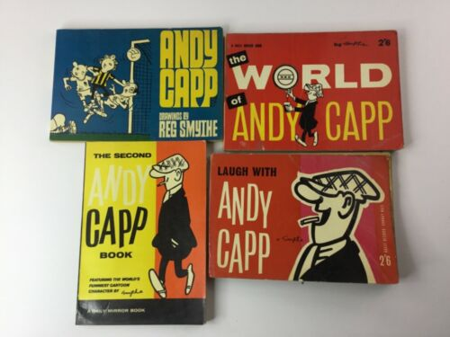 Andy Capp Book Lot of 4