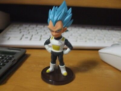 WCF Dragon Ball Super World Collectable Figure Vegeta SSGSS used japan