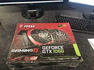 MSI GTX 1060 6GB Gaming X Graphics Card