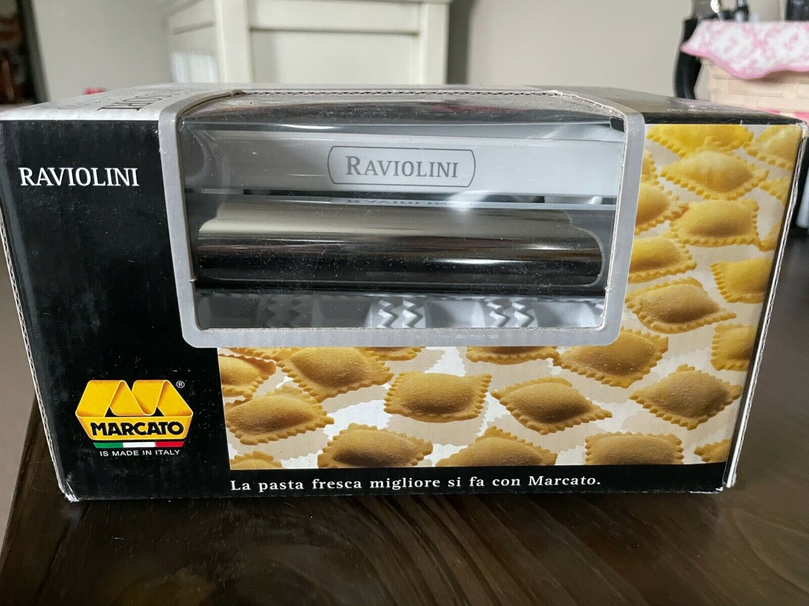 Marcato Raviolini Mini Ravioli Maker Attachment ONLY for Atl