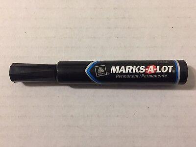 Vintage 1990s Marks A Lot Black Permanent Ink Marker Works Avery 90s