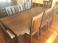 Dining Suite - Table, 8 Chairs, 2 side units, bookcase Carlisle Victoria Park Area Preview
