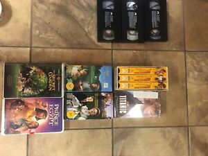 VHS movie sets