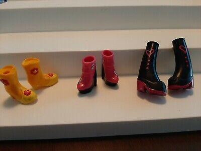 Bratz Kidz Shoes Boots Lot of 3 VGUC VHTF
