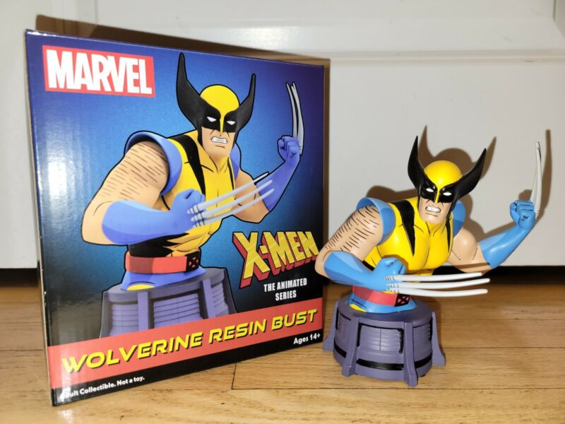 Marvel Animated Series: X-Men - WOLVERINE Resin Mini Bust by Diamond Select Toys