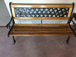 Nice park bench for sale