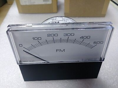 Hoyt - 3135 Panel Meter  Input 4 - 20 Ma Dc  Scale 0 - 500 Fm