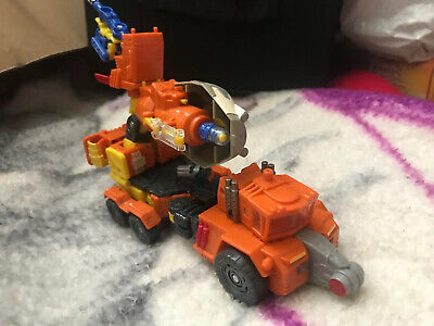 2006 Transformers Cybertron Voyager Class Quickmix & Stripmine Almost Complete
