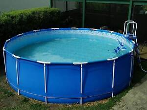 Swimming Pool 15 Foot round. Above Ground. Sunbury Hume Area Preview