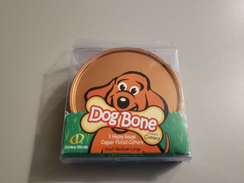 Bone-shaped Copper Cookie Cutters Dog Biscuits