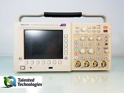 Tektronix Tds3054c Phosphor Oscilloscope Tds3trg Tds3fft Tds3tmt Tds3sdi