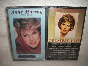 Anne-Murray-Two-Different-Cassette-Tape-Music-Lot