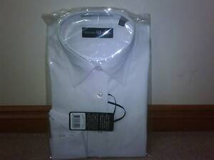 May Frenzy Sale Studio Italia Womens Tailored White Shirt RRP $79 Greenvale Hume Area Preview