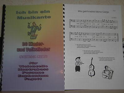 Noten - 30 Kinderlieder für Posaune - zweistimmig