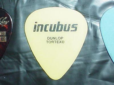 INCUBUS Ben Kenney 2004 Concert Tour GUITAR PICK Megalomaniac Pardon Me Band