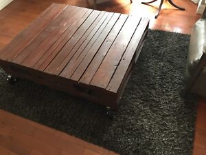 Low wooden coffee table - 40$ OBO