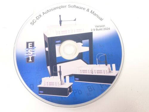 Elemental Scientific ESI SC-DX Autosampler Software & Manual | Version 2.9