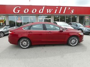2014 Ford Fusion SE! AWD! LOADED! NAVI! HEATED LEATHER SEATS!