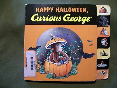 CURIOUS GEORGE HAPPY HALLOWEEN BOARD BOOK