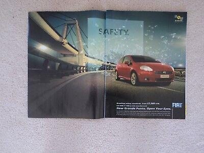 Fiat Grande Punto  -  Advertisement  -  2006
