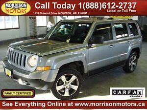 2016 Jeep Patriot High Altitude 4x4, Leather, Sunroof!