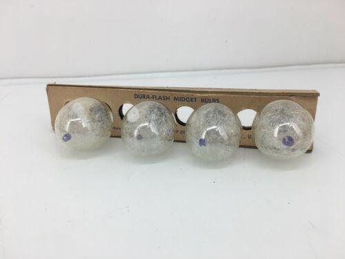 Vintage Dura Flash Midget Bulbs