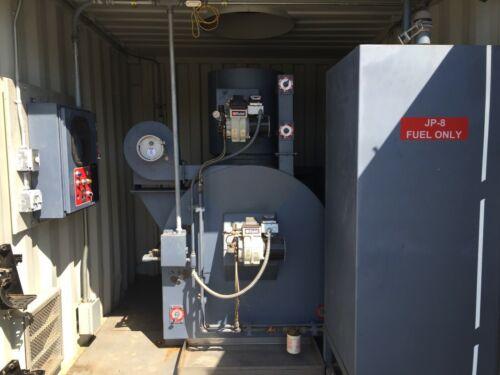Therm-Tec Military Incinerator Incineration  Beckett Diesel Multi-Fuel Burner