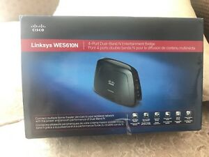 Wireless Router - Linksys WES610N