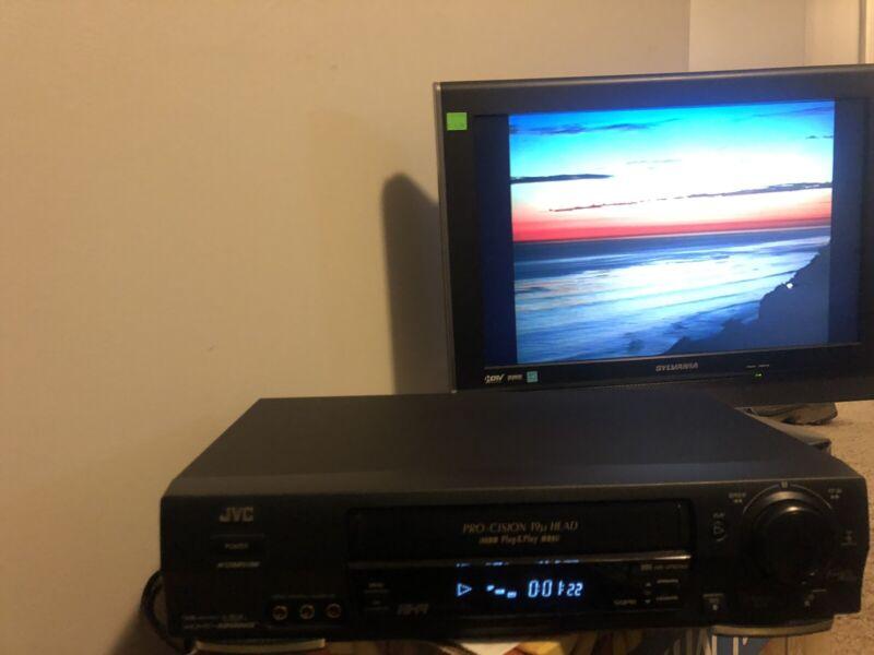 JVC HR-VP674U VCR VHS Player Tested Works