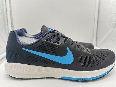 Nike Air Zoom Structure 21 UK 8 Obsidian Blue Hero 904695-404