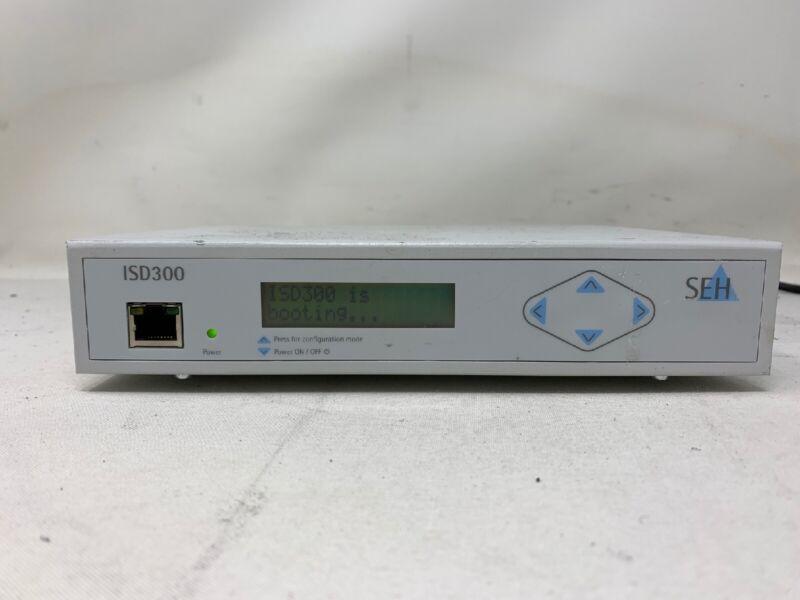 SEH TECHNOLOGY ISD300 Druckserver/ Printserver 2 AVAILABLE  MW