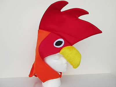 Funny Costume Hats (ADULT FUNNY ROOSTER HAT CHICKEN COCK BIRD FARM ANIMAL CUTE COSTUME)