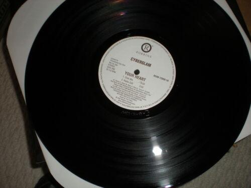Cyberslam Your Heart 12 inch VINYL Al B. Rich mix, club mix, radio edit