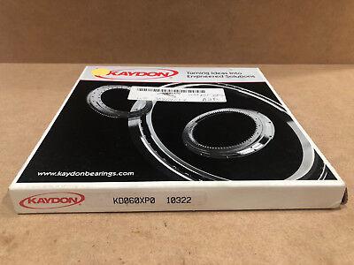 Kaydon Kd060xp0 Open Reali Slim Bearing Type X Four-point Contact