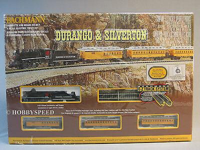 BACHMANN N SCALE DURANGO & SILVERTON TRAIN SET steam engine passenger  24020 NEW for sale  Indiana