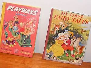 2 VINTAGE CHILDRENS CLASSICS C1950'S!! BARGAIN AT $25 Morphett Vale Morphett Vale Area Preview