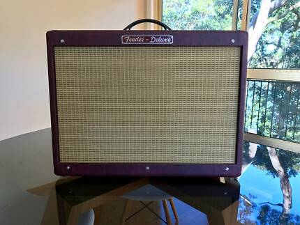 Fender Hot Rod Deluxe Guitar Amp (Limited Edition - Wine Red)