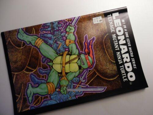 LEONARDO #1 TEENAGE MUTANT NINJA TURTLES 1986 Mirage TMNT Micro Series comic