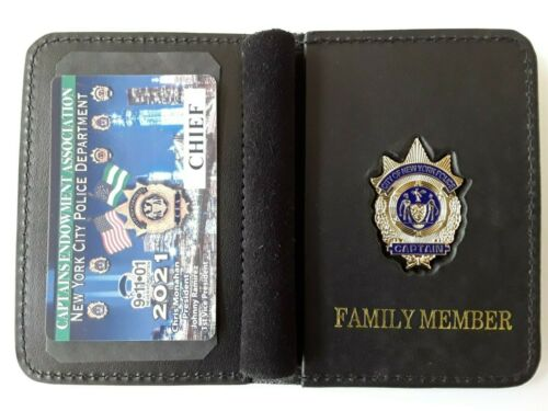 1 2021 CEA CAPTAIN  CHIEF CARD W/ LEATHER  WALLET NOT DEA LBA SBA  PBA