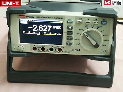 Uni-t Ut8804n Bench Top Multimeter Auto T-rms Dmm 59999 Counts Scr Temp Tester