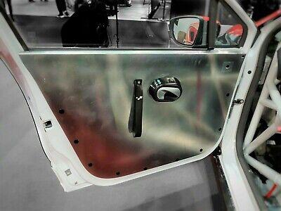 BMW E36 Saloon Aluminum Front 4 Door Panels Skins Race Track Car Cards Sedan M3