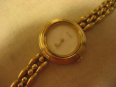 Vintage Gucci Gold Filled 11/12 Watch, works perfect