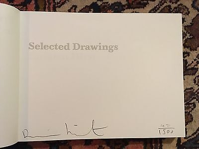 SIGNED AND NUMBERED LIMITED EDITION DAMIEN HIRST CATALOGUE OF DRAWINGS 2004