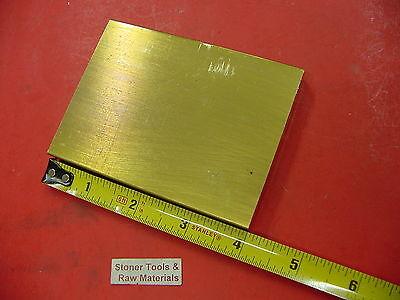 12 X 3 C360 Brass Flat Bar 4 Long Solid Plate Mill Stock H02 .50 X 3.0x 4