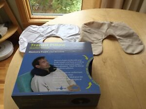 Memory Form Transit/Travel Pillow (NEW) +free inflatable pillow