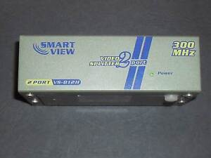 SMART VIEW 300MHZ VGA 2 Port Video Splitter VS-812H Rutherford Maitland Area Preview