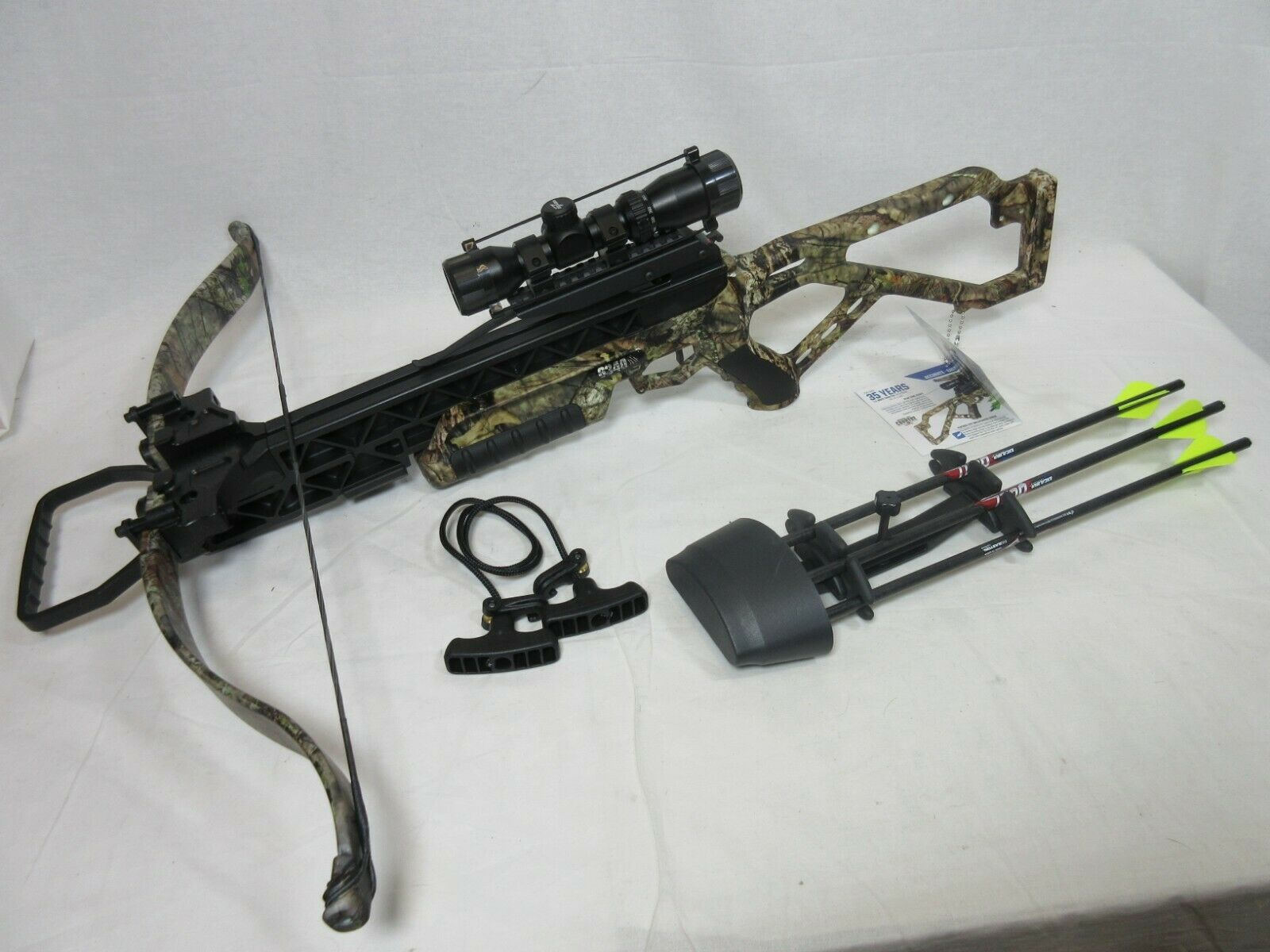 Excalibur G340 Crossbow 340 FPS 230 lbs Package w/ Dead Zone