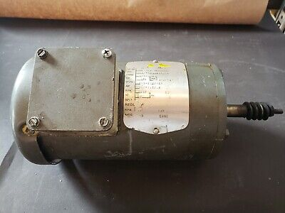 16hp Baldor 1725rpm Right Angle Gearmotor Gm3337 208-230460v