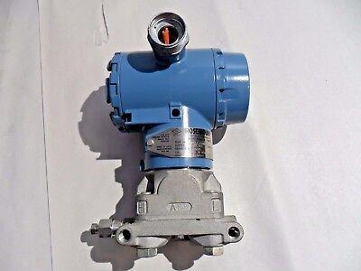 Rosemount Pressure Transmitter 3051cg2a22a1am5q4 Used