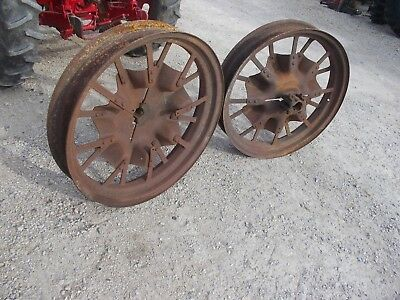 Mccormick Farmall F12 F14 Tractor Ih Rear Flat Spoke Rims 6 X 36